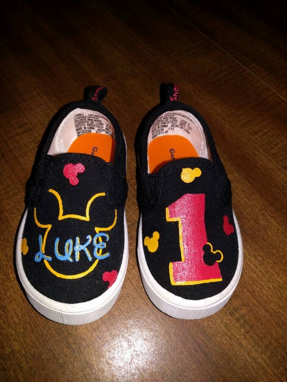 custom painted canvas slip on shoes by sneezy23 on etsy