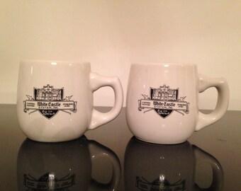 Vintage White Castle Advertising Mug