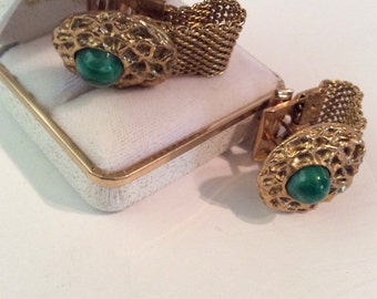 Vintage cuff links 1 in