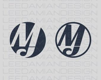 OOAK MJ Logo, Watermark, Business Logo,