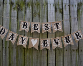 Bridal shower banner Future Mr Mrs Burlap Banner Customize your color