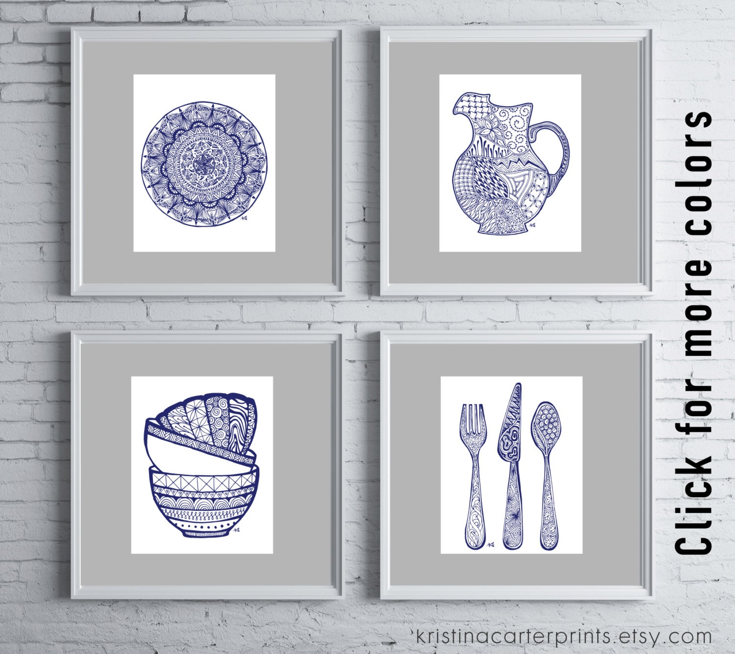 kitchen art print grouping dining room pictures digital 1000 images about dream home on pinterest pop of