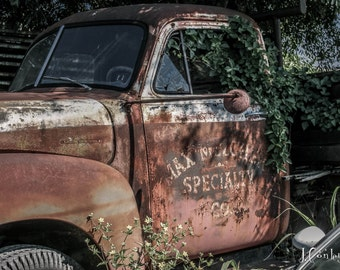 Retired Truck Photograph
