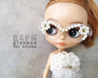 Daisy Butterfly Glasses-for blythe