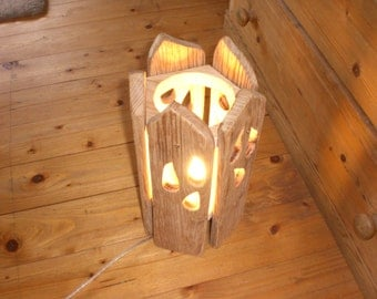 Table lamp - hand made