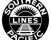 Southern Pacific RR Magnets