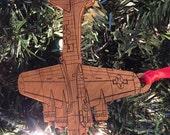 B-17 Wooden Ornament