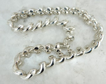The San Marco Necklace in Sterling Silver XJMXTX-D