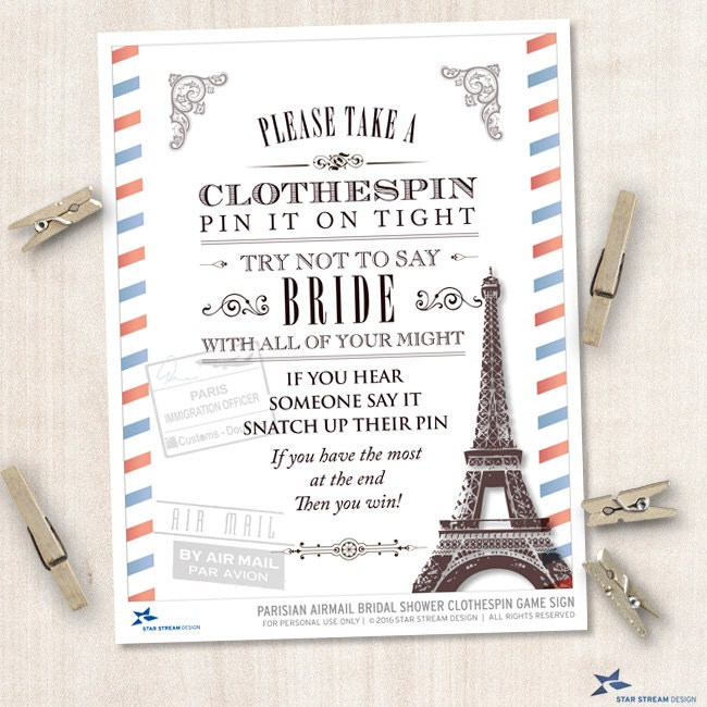 parisian airmail bridal wedding shower clothespin game instant download jpg