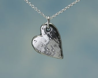 Sterling Silver Heart Charm – Sterling Silver Charm – Sterling Charm – Sterling Silver Heart Pendant – Sterling Heart Charm – Heart Jewelry