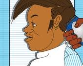 Gender Studies: Requiem for a Hot Comb--Comic Zine