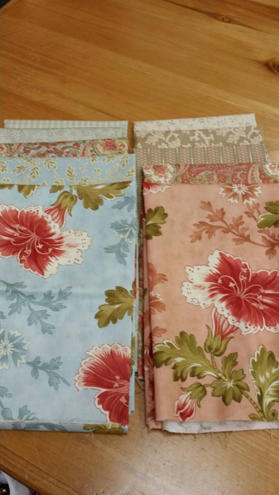 Moda Autumn Lily Fat Quarter Fabric Bundle Blackbird by ...