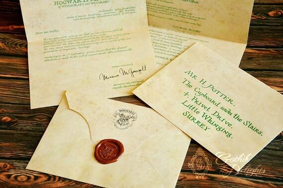 Risultati immagini per lettera per hogwarts
