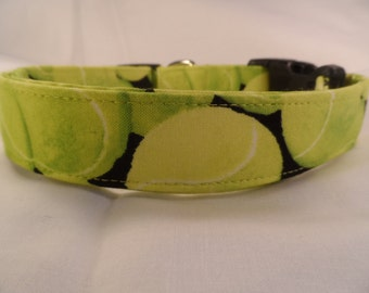 Tennis Ball Dog Collar