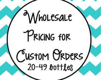 Wholesale pricing on ready-made, pre-designed soap dispensers