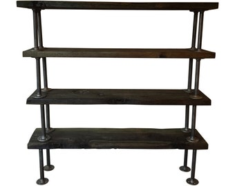 Reclaimed Bookcase, Industrial Bookcase, Shelves, Shelving, Stand