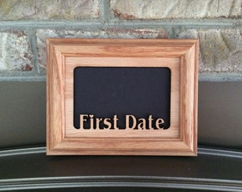 First Date Picture Frame 5x7
