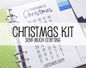 Printed Personal Size Christmas Kit