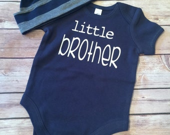 Little Brother Bodysuit and Hat