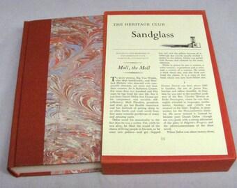 The Diary of MOLL FLANDERS Daniel Defoe Heritage Press w/Slipcase & Sandglass