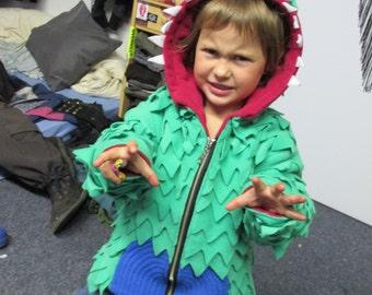 Kid's Dragon Skin Reptile Fleece Jacket