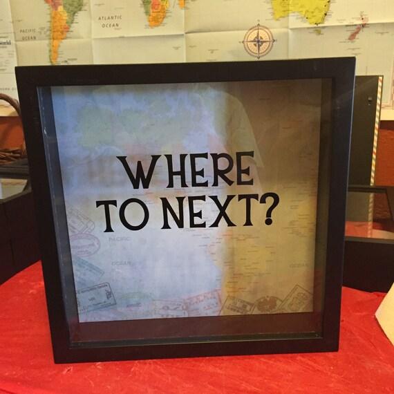 Next Wedding Gift Box : ... Box, Memory Box, Traveler Gift, Wedding gift, Anniversary gift