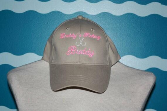 Youth baseball hat girls baseball hat daddy 39 s fishing for Youth fishing hats