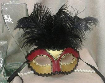 ROGUE Handpainted Masquerade Mask