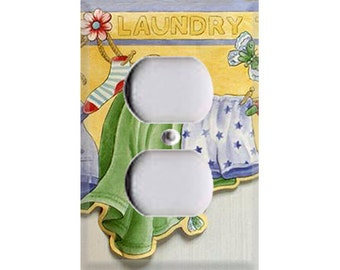 Laundry Time Outlet Cover