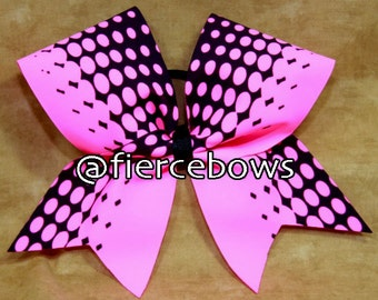 Powerfully Pink Cheer Bow