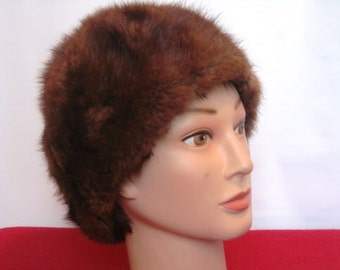 Furry Fabulous Vintage Hat