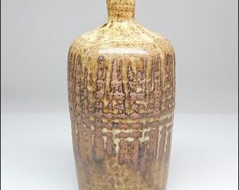 Ted Scatchard American Studio Art Pottery Mid-Century Modern 1960s Stoneware Vase