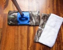 Reusable mop/duster sets in Gray camo