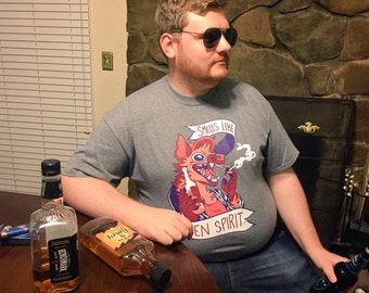 Grey Tee XL - Smells Like Yeen Spirit Tee Shirt