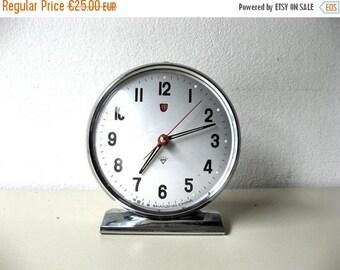 SALE Vintage Alarm Clock, Diamond Shanghai