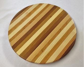 Handmade Wooden Lazy Susan