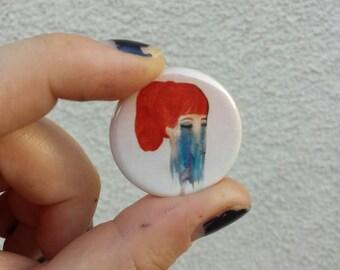 Watercolor Melt Button