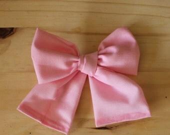 Big Big Perfect Pink Bow (headband or clip)