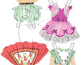 Patsy Vintage Style Printable Paper Doll Add-On Outfits