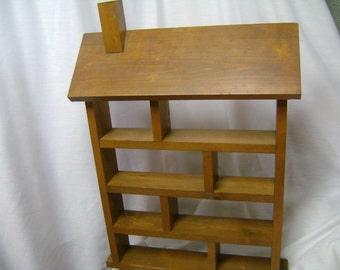 Wood Shadowbox Display Solid Gorgeous Shelf