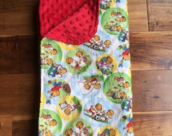 Berenstain Bears blanket | Berenstain Bears | Berenstain bear books | gender neutral baby blanket
