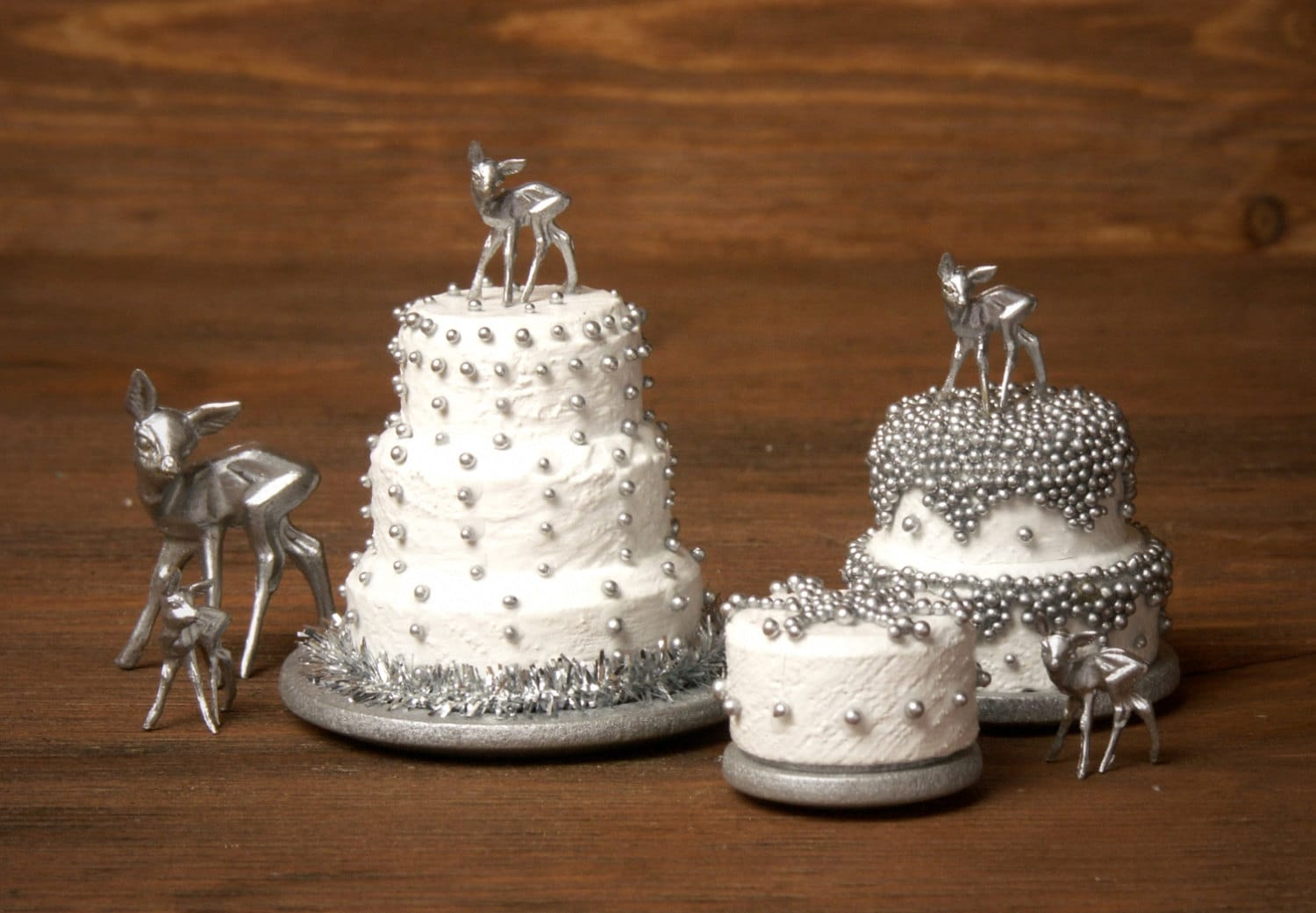 Charming Miniature Winter Cake Snowflake for Your by