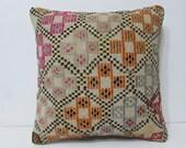 20x20 kilim pillow 20x20 decorative pillow 20x20 pillow cover 20x20 pillow case 20x20 throw pillow covers large kilim pillow cushions 27716