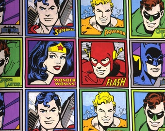 DC Comics Cotton Fabric Panels by Camelot! [Sold by the Panel]