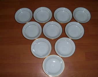 Noritake Guilford Set Of Ten Fruit Or Dessert Bowls
