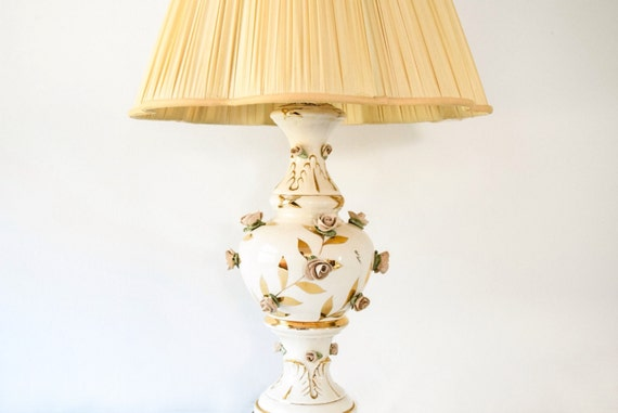 Antique Floral Lamp Antique Table Lamp Floral Table Lamp
