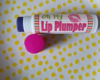 Lip Plumper - Organic Lip Plumper - Natural Lip Plumper - Lip Plumping Balm - Shiny Lipgloss - Organic Cosmetics - Lip Plumper Gloss - Lips