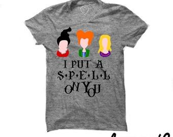 Pocus Tees; Sanderson Sisters- Hocus Pocus Tee - Inspired Shirt - Halloween Shirt
