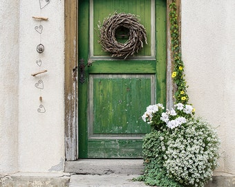 Old Door - Austrian Mountain Village - Historic Europe