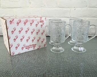 Princess House Fantasia Irish Coffee Mugs - Never Been Used comes with the Original Box